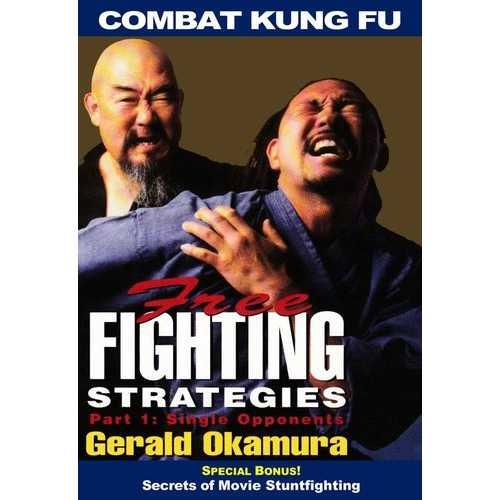 Combat Kung Fu San Soo: Free Fighting Strategies #1 Single Opponents DVD Okamura