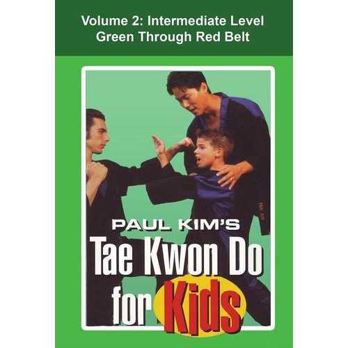 Tae Kwon Do for Kids #2 Intermediate combinations forms techniques DVD Paul Kim
