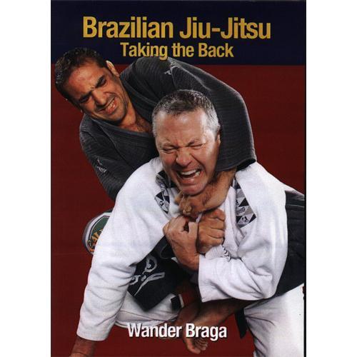 Brazilian Jiu-Jitsu Taking the Back DVD Wander Braga MMA Vale Tudo