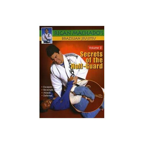 Brazilian Jiu Jitsu Secrets of Half-Guard #2 DVD Rigan Machado MMA grappling