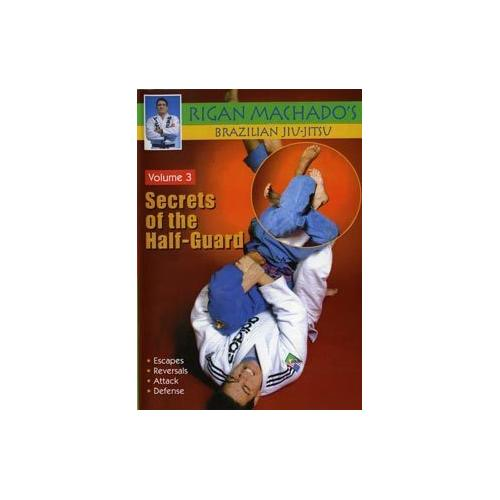 Brazilian Jiu Jitsu Secrets of Half-Guard #3 DVD Rigan Machado MMA gracie