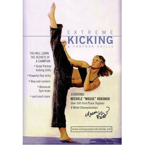 Tournament Karate Extreme Kicking & Partner Drills Competition DVD Michele Mouse Krasnoo