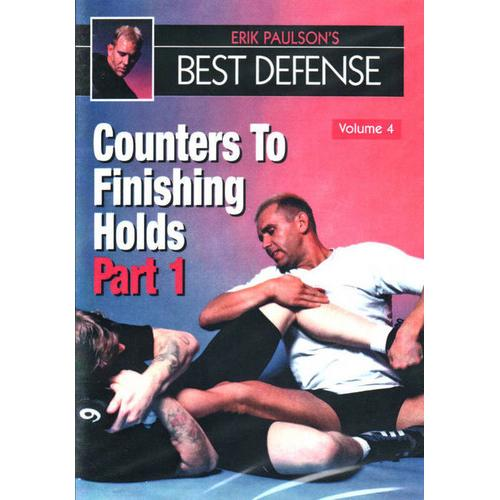 Erik Paulson Best Defense #4 Counters Finishing Holds #1 DVD MMA grappling