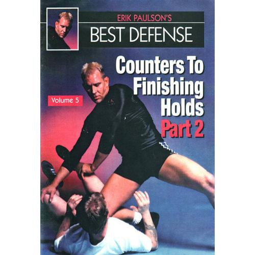 Erik Paulson Best Defense #5 Counters Finishing Holds #2 DVD MMA grappling
