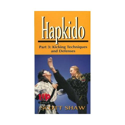Korean Karate Hapkido #3 Kicking Techniques & Defenses DVD Scott Shaw