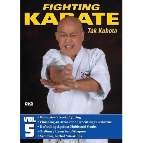 Fighting Karate #5 Defensive Street Fighting Kicking DVD Takayuki Kubota