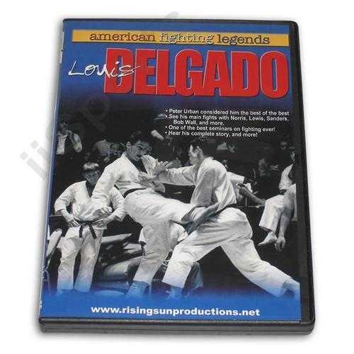 American Fighting Legends Louis Delgado DVD