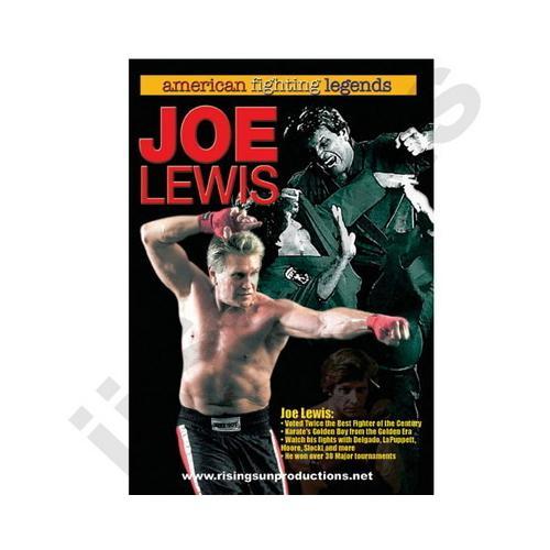 American Fighting Legends Joe Lewis DVD