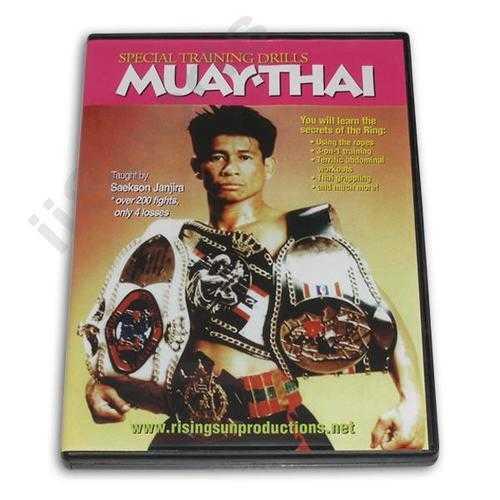 Muay Thai Special Training Drills DVD Janjira