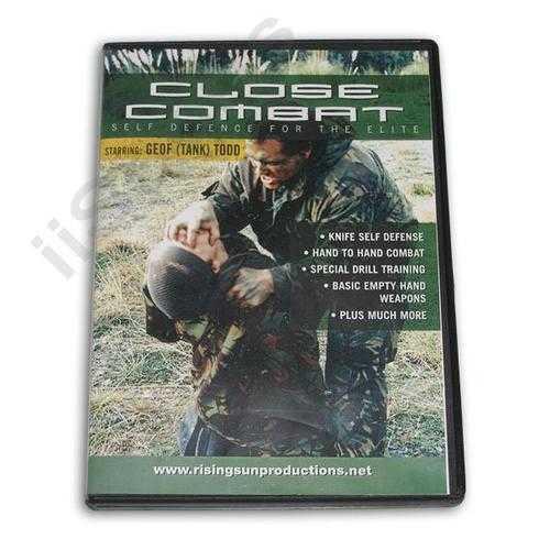 Close Combat Self Defense for Elite DVD Todd