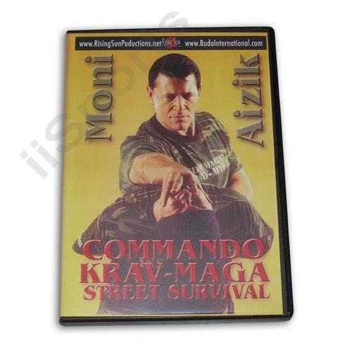 Commando Krav Maga Street Survival DVD Aizik
