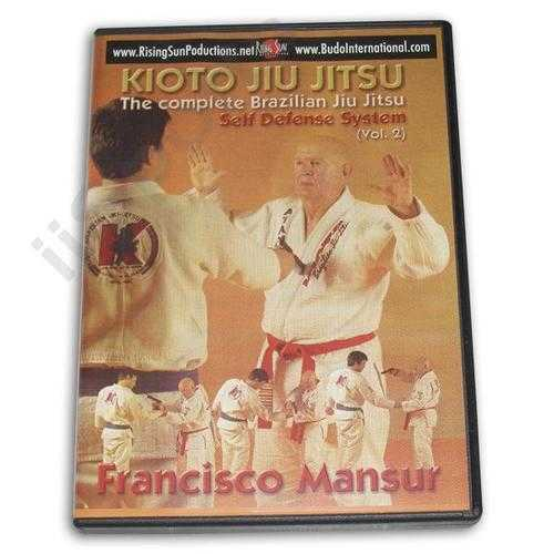 Kioto Brazilian Jiu Jitsu Self Defense #2 DVD Mansur