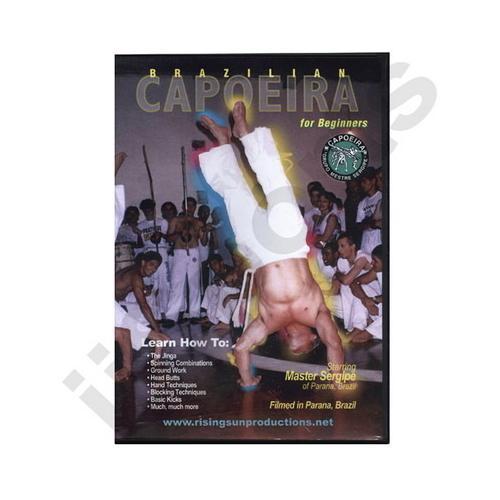 Brazilian Capoeira for Beginners DVD Sergipe
