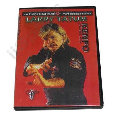 Ed Parker Kenpo Karate DVD Larry Tatum