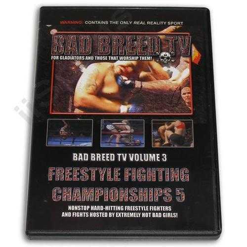 Hard Shooto NHB MMA Grappling Fighting Women Bad Breed Magazine #3 DVD New! FS