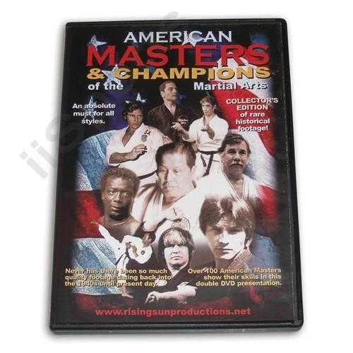 American Masters & Champions Martial Arts DVD