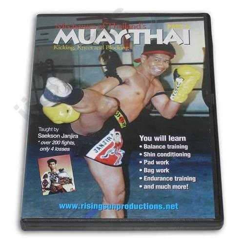 Mechanics Muay Thai #2 Kicking Blocking DVD Janjira