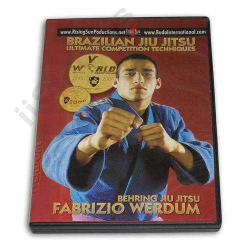 Brazilian Behring  Jiu Jitsu Ultimate Competition DVD Fabricio Werdum