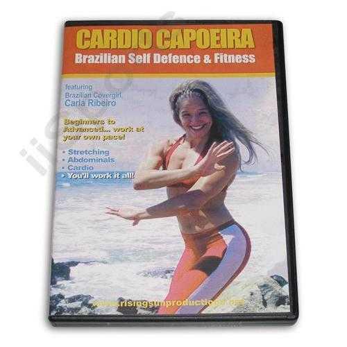 Cardio Capoeira Brazilian Ultimate Workout DVD Ribeiro