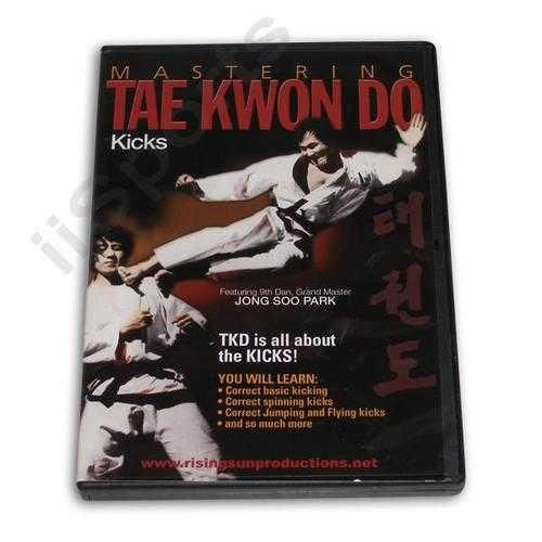 Mastering Tae Kwon Do Kicks DVD Jong Soo Park