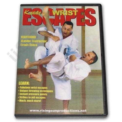 Karate Wrist Escapes DVD Estes