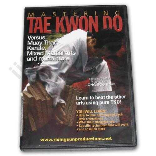 Mastering Tae Kwon Do vs Muay Thai DVD Jong Soo Park