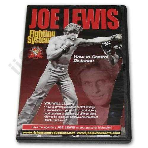Joe Lewis Fighting Control Distance #3 DVD