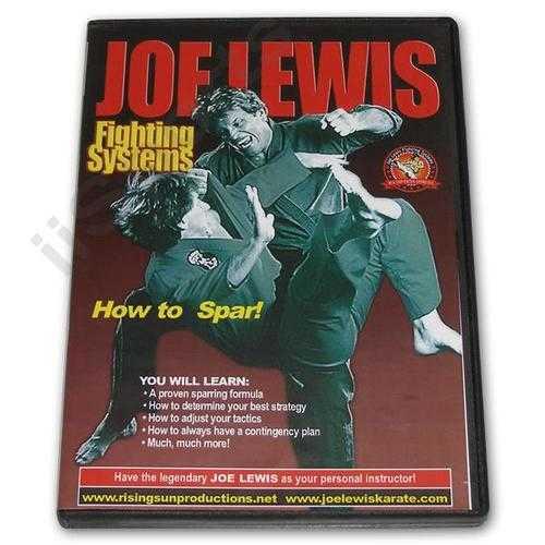Joe Lewis Fighting How to Spar #7 DVD