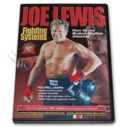 Joe Lewis Fighting Broken Rhythm #9 DVD