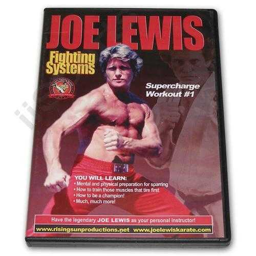 Joe Lewis Fighting Supercharge Workout #1 DVD