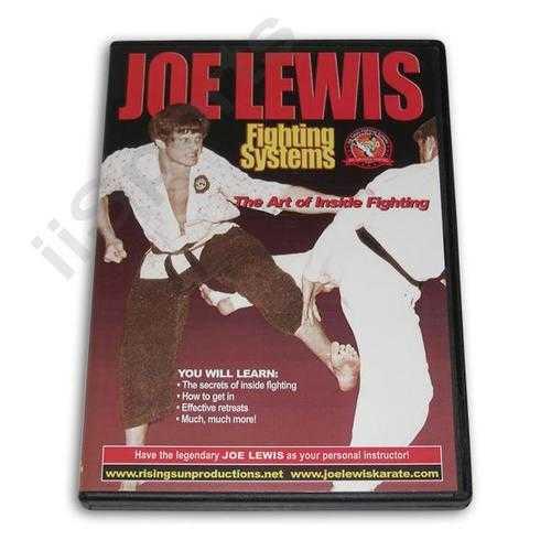 Joe Lewis Systems Inside Fighting #17 DVD