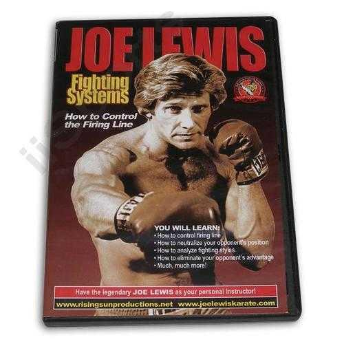 Joe Lewis Fighting Control Firing Line DVD