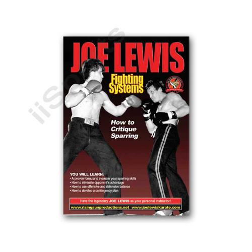 Joe Lewis Fighting Critique Sparring DVD