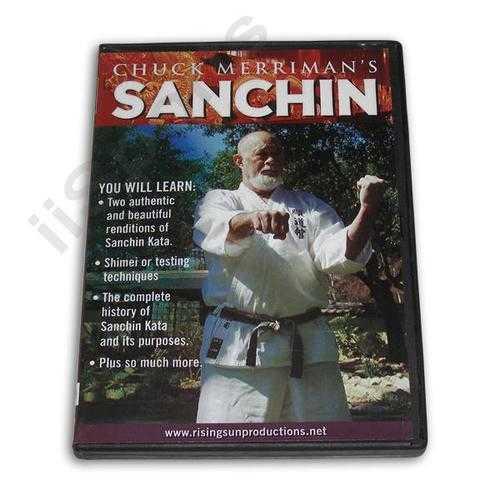 Chuck Merriman Goju Karate Sanchin DVD