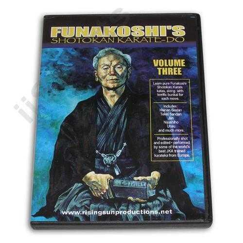 Funakoshi Shotokan Karate Do #3 DVD Balzarro