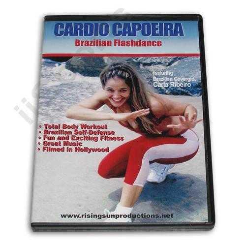 Cardio Capoeira Brazilian Flashdance DVD Ribeiro