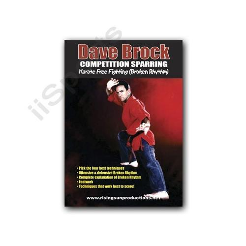 Competition Sparring Karate Free Fighting DVD Brock