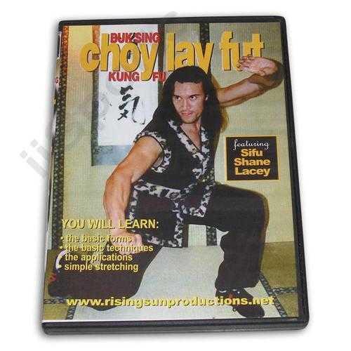 Buk Sing Choy Lay Fut Kung Fu DVD Lacey