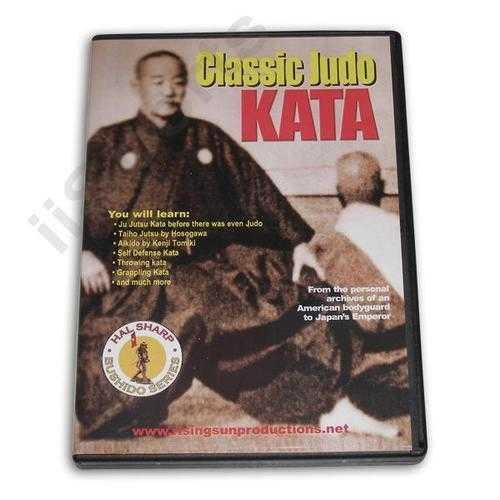 Classic Judo Kata DVD Hal Sharp