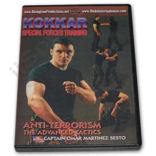 Kokkar Anti Terrorism DVD Sesto