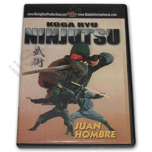 European Koga Ryu Ninjitsu DVD Juan Hombre ninja