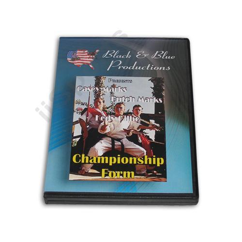 Tournament Karate Championship Bo & Sword Forms Kata DVD Casey & Butch Marks