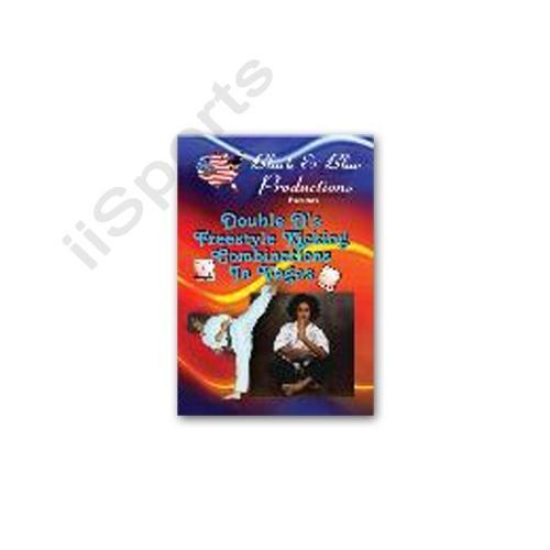 Tournament Karate Double Ds Freestyle Kicking Combinations DVD David Douglas