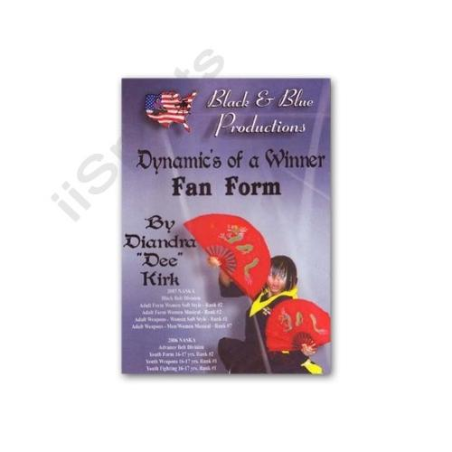 Tournament Karate Fan Form Kata DVD Diandra 'Dee' Kirk