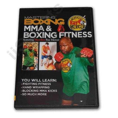 Mastering Boxing MMA & Fitness DVD Mercer