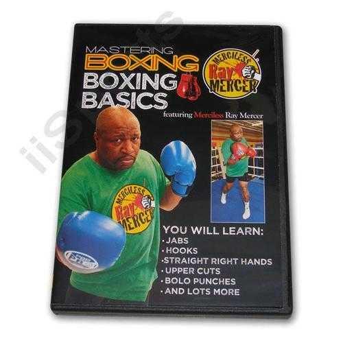 Mastering Boxing Basics DVD Mercer