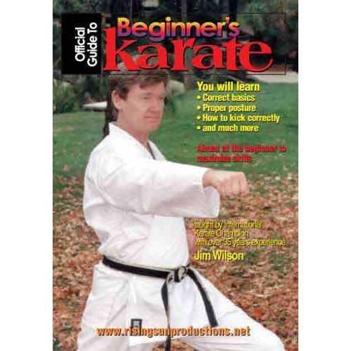 Beginners Guide To Karate Shotokan DVD Wilson