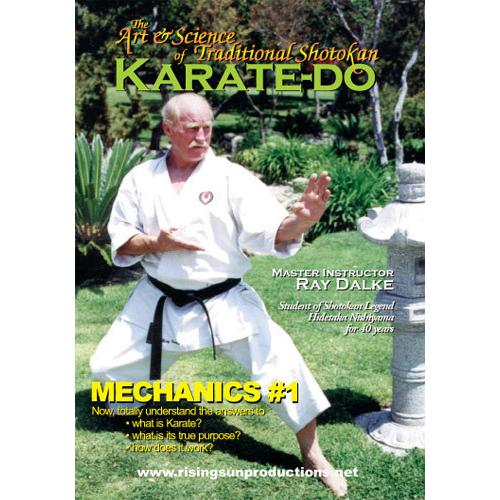8 DVD Set Art & Science of Traditional Shotokan Karate - Ray Dalke