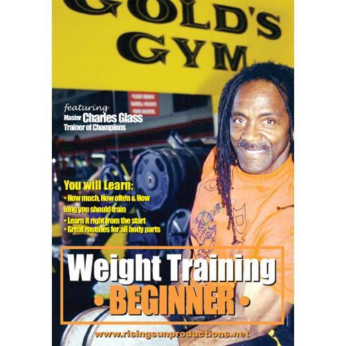 Weight Training - Charles Glass 3 DVD Set
