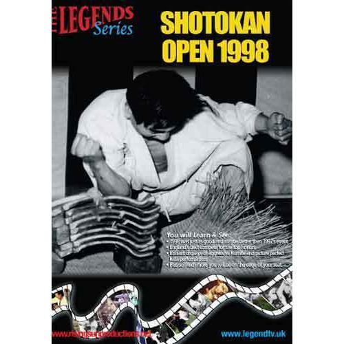 England UK Shotokan Karate Open - 1998 DVD KUGB